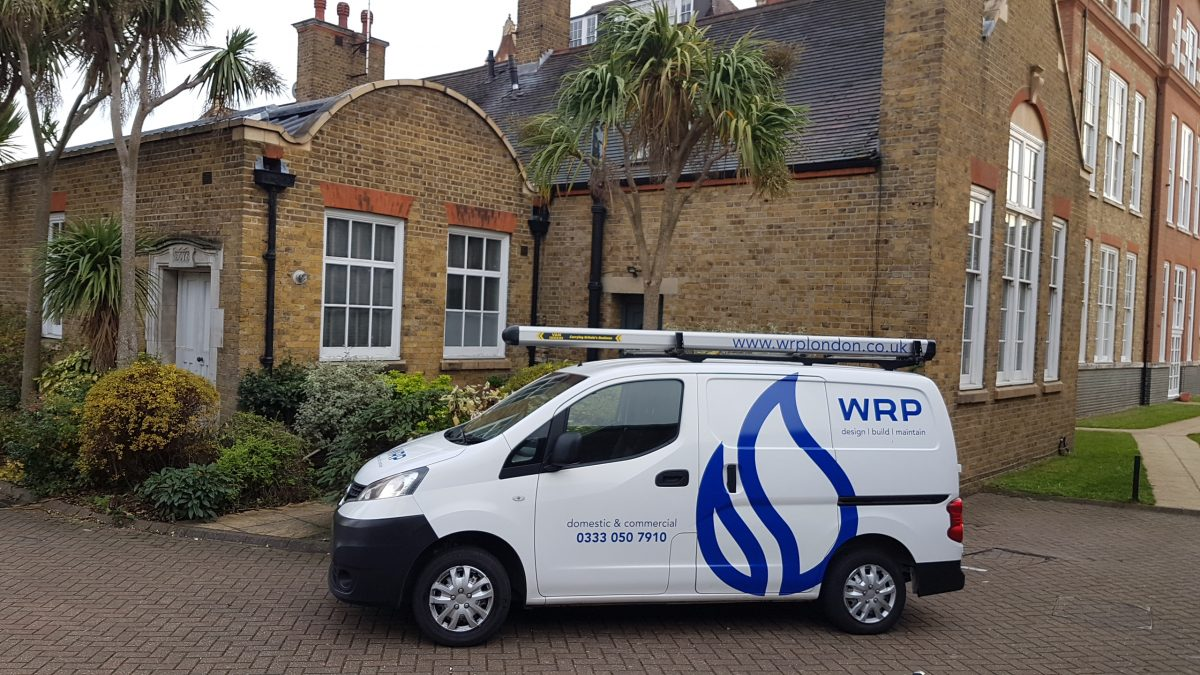 WRP plumbers and property management in London